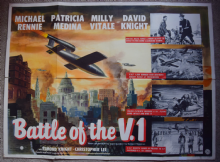 Battle of the V.1 Film Poster - UK Quad